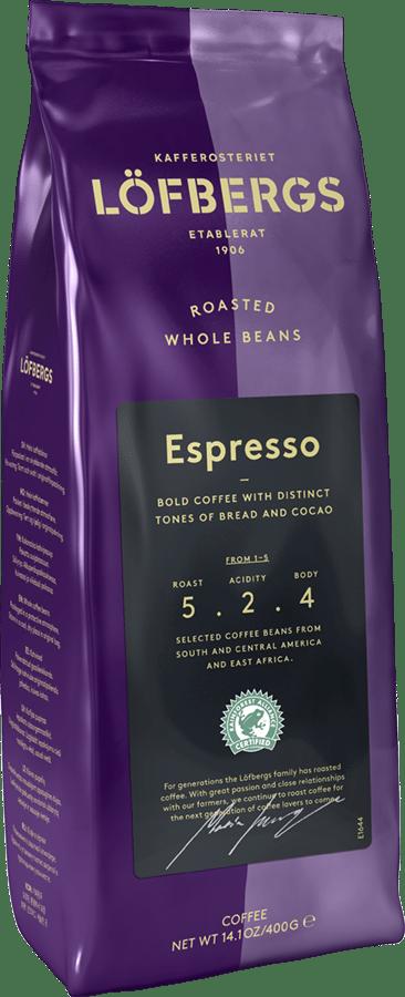 Espresso hela bönor